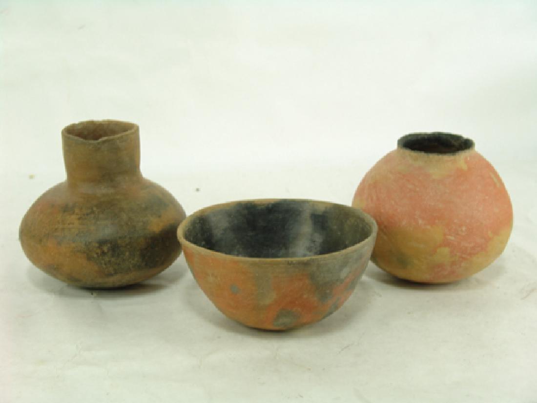3 Hohokam Pottery Items - 2