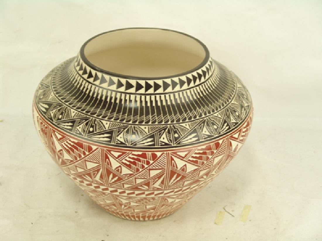 Acoma Pottery Jar - D. Aragon - 2