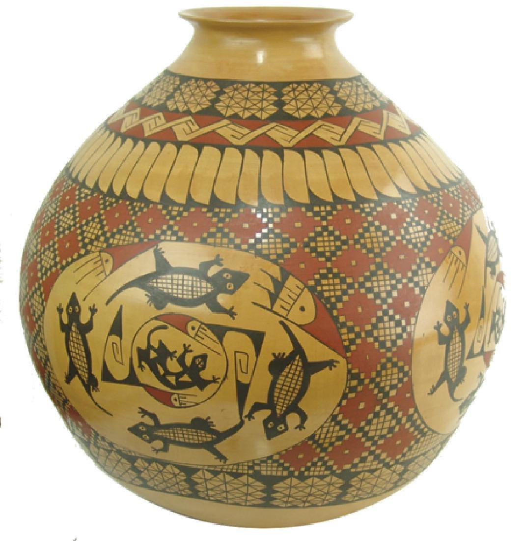 Huge Casas Grandes Pottery Jar - Miguel Bugarini