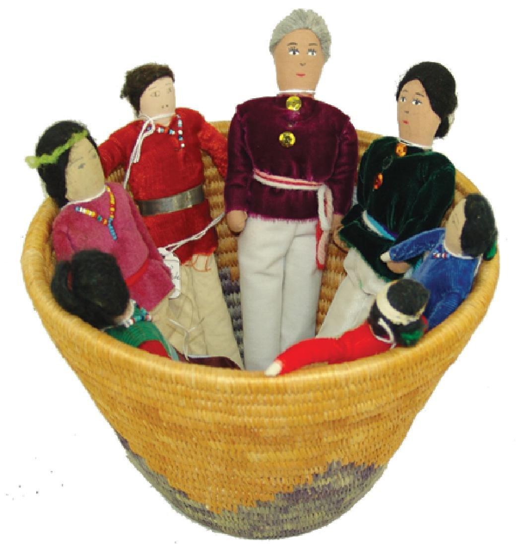 Group of Navajo Dolls