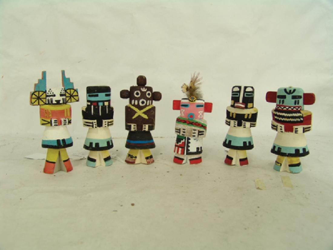 6 Kachina Dolls - 2