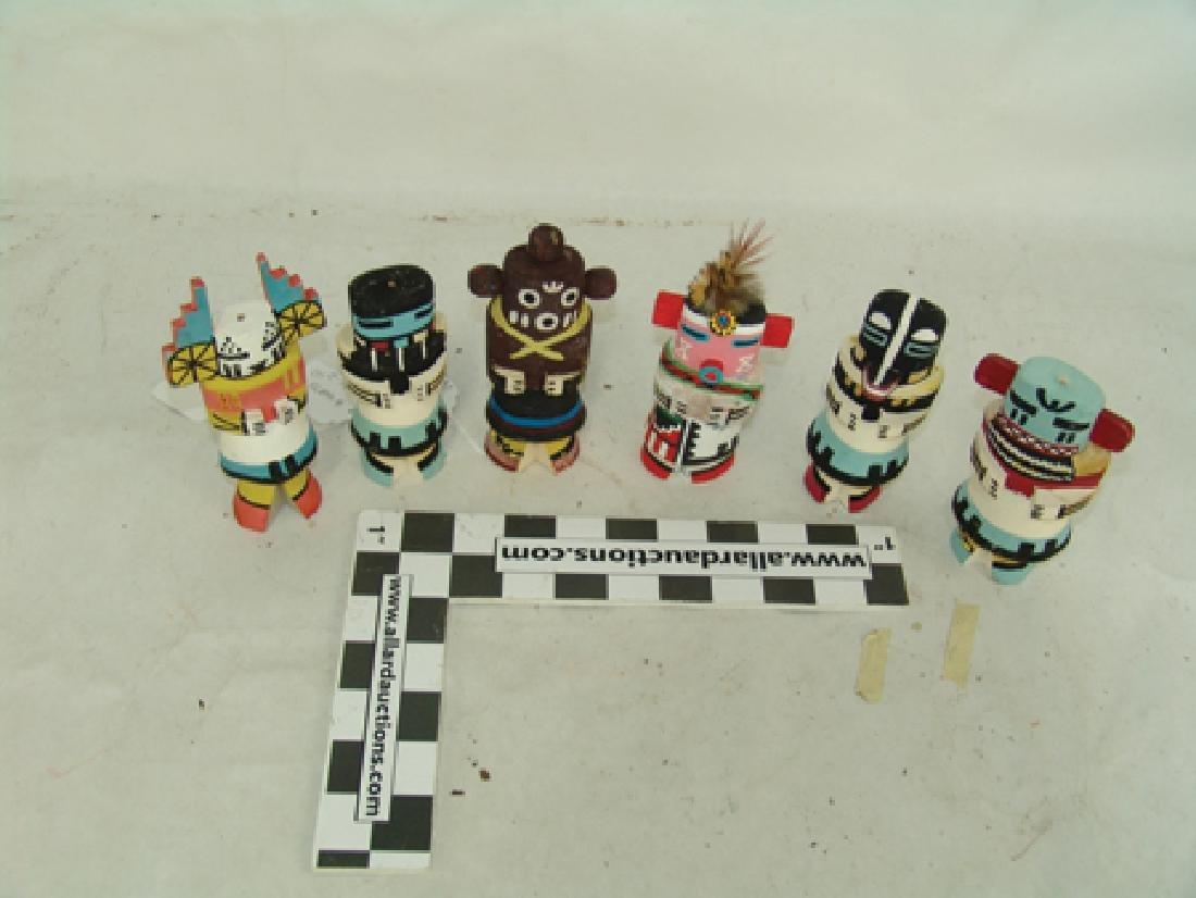 6 Kachina Dolls - 3