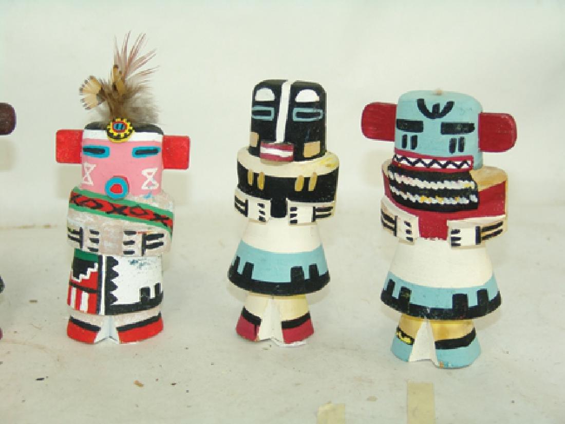 6 Kachina Dolls - 5