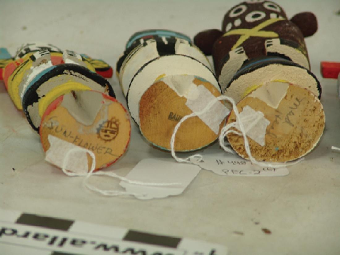 6 Kachina Dolls - 6