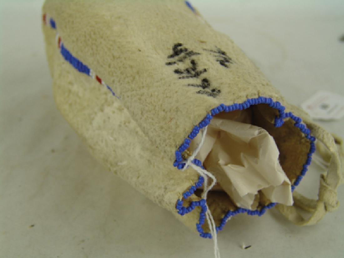 Sioux Beaded Bag - 7