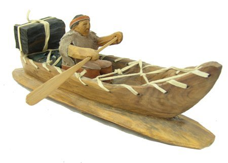 Cherokee Model Canoe - Clarence Downy