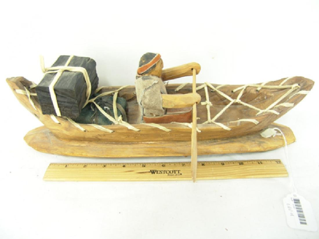 Cherokee Model Canoe - Clarence Downy - 2