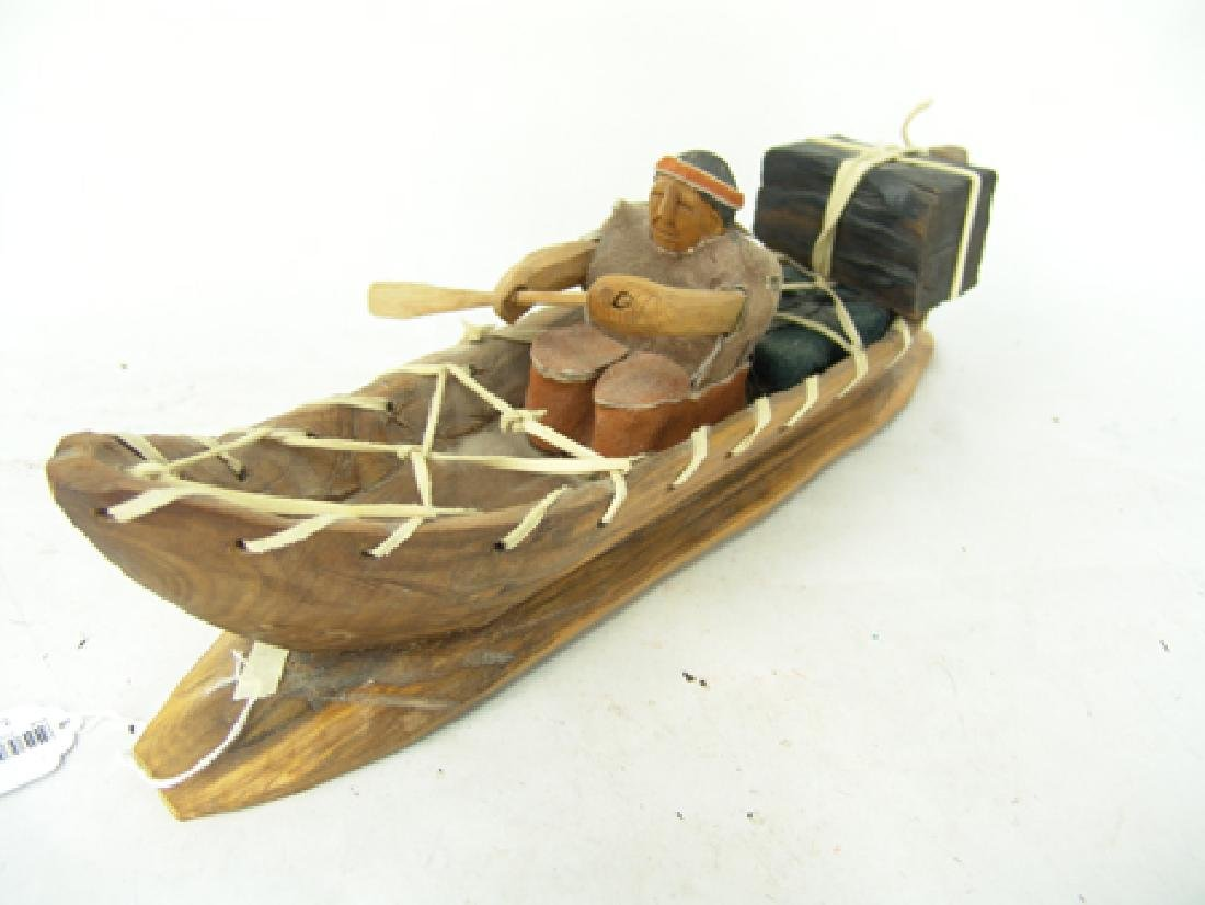 Cherokee Model Canoe - Clarence Downy - 3