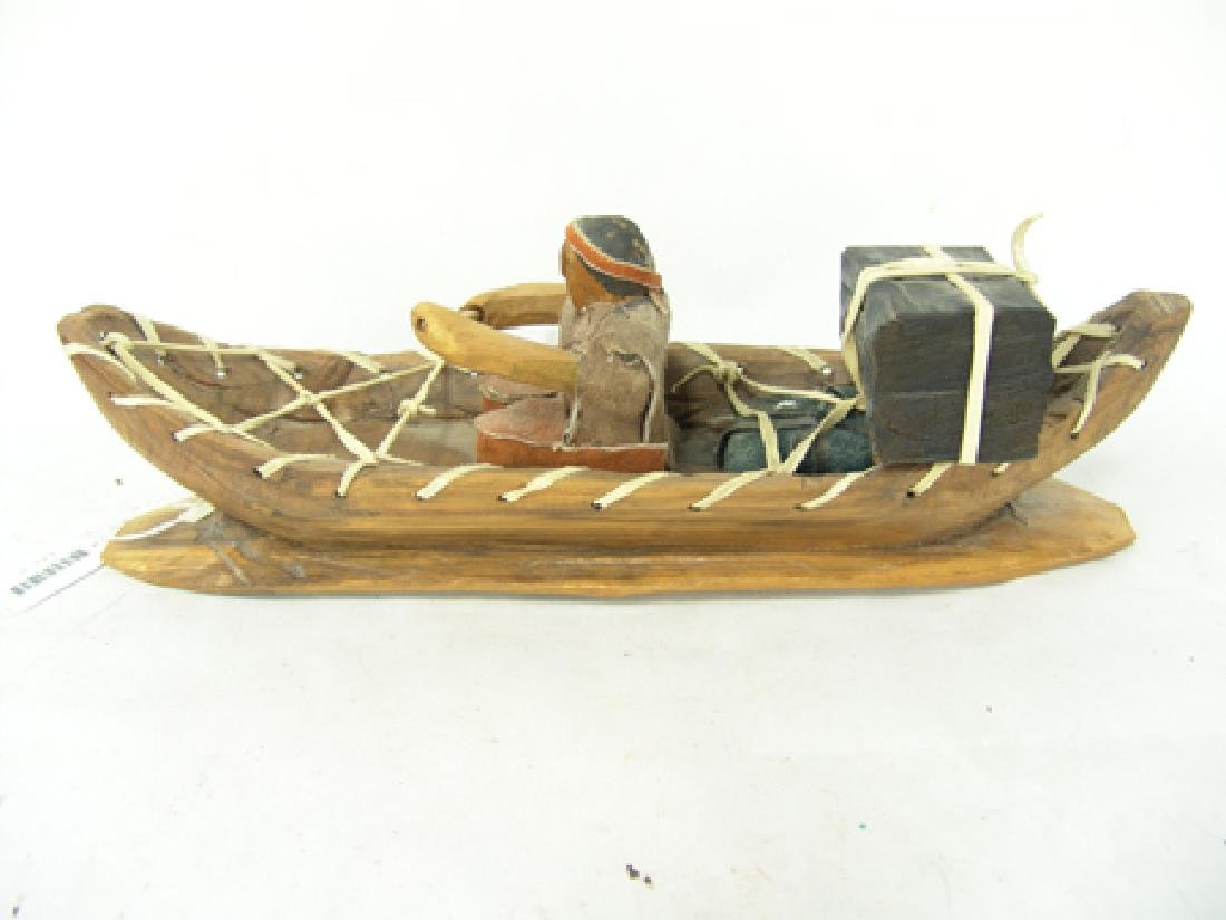 Cherokee Model Canoe - Clarence Downy - 4