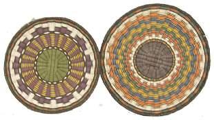 2 Hopi Baskets