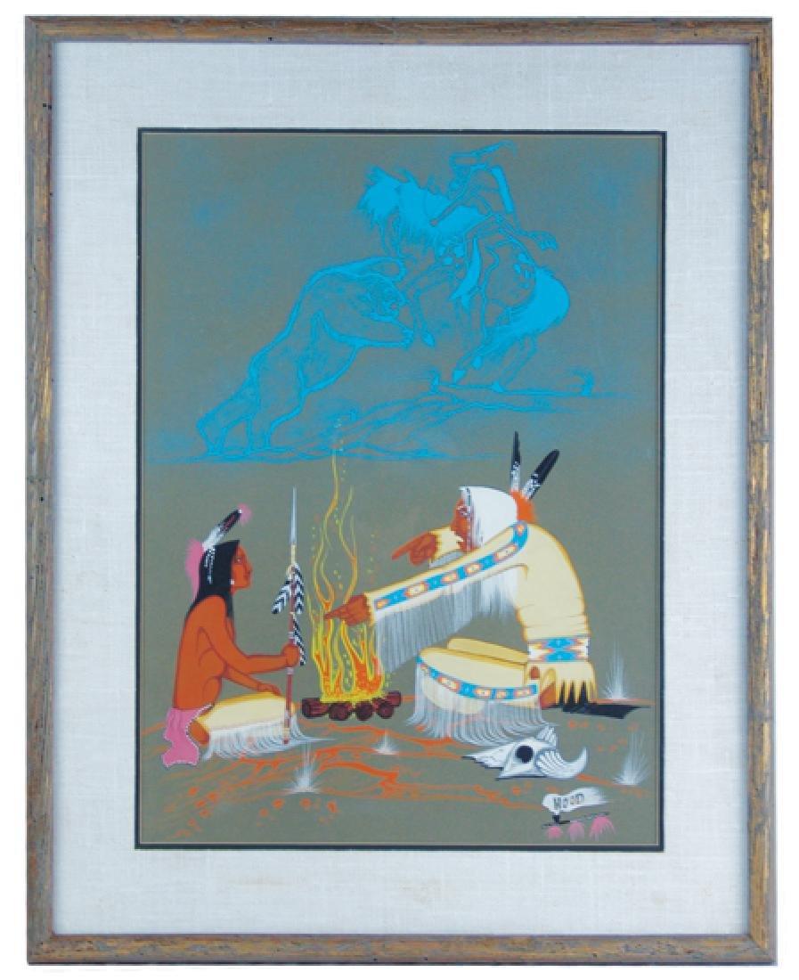 Rance Hood, Comanche (b.1941)