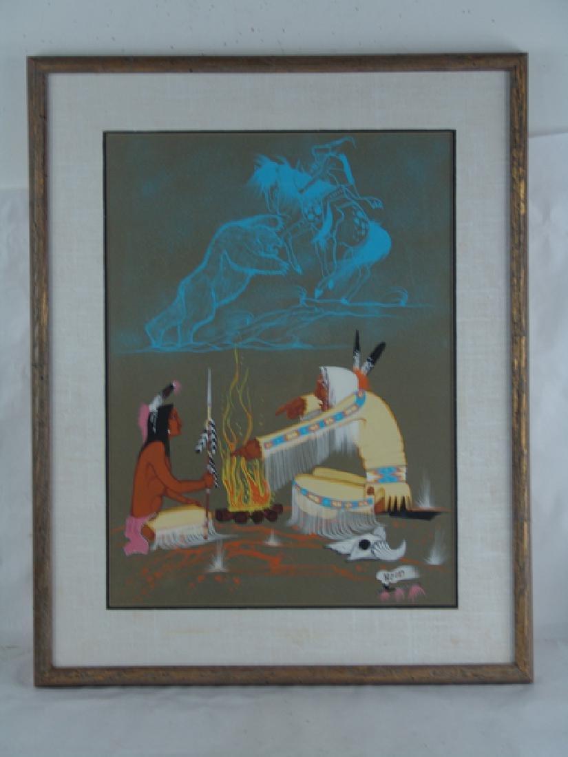 Rance Hood, Comanche (b.1941) - 2