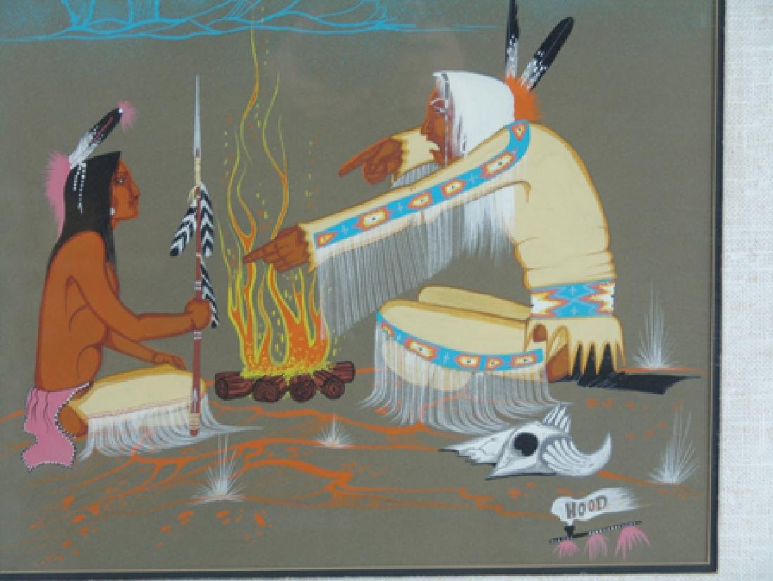 Rance Hood, Comanche (b.1941) - 4