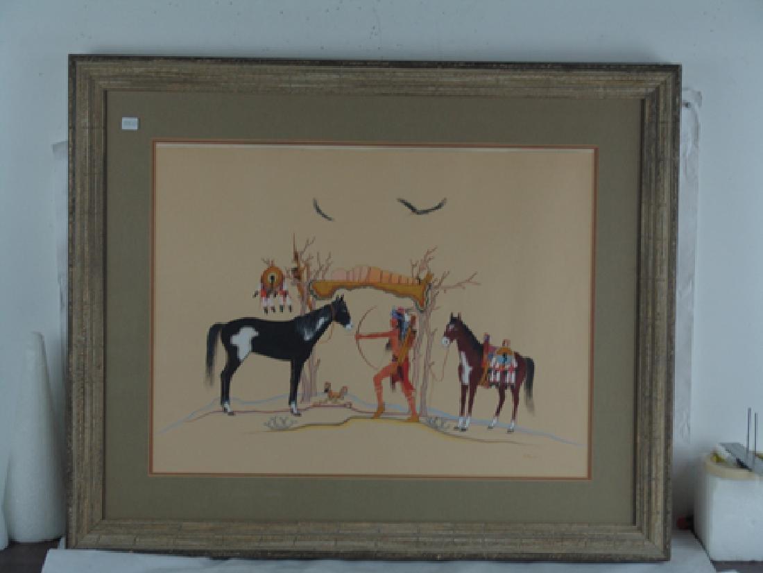 Stephen Mopope, Kiowa (1898-1974) - 3