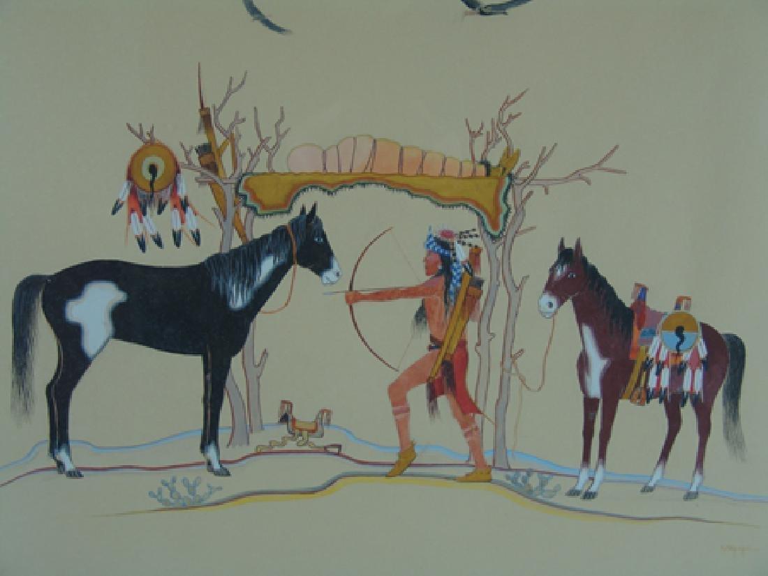 Stephen Mopope, Kiowa (1898-1974) - 4