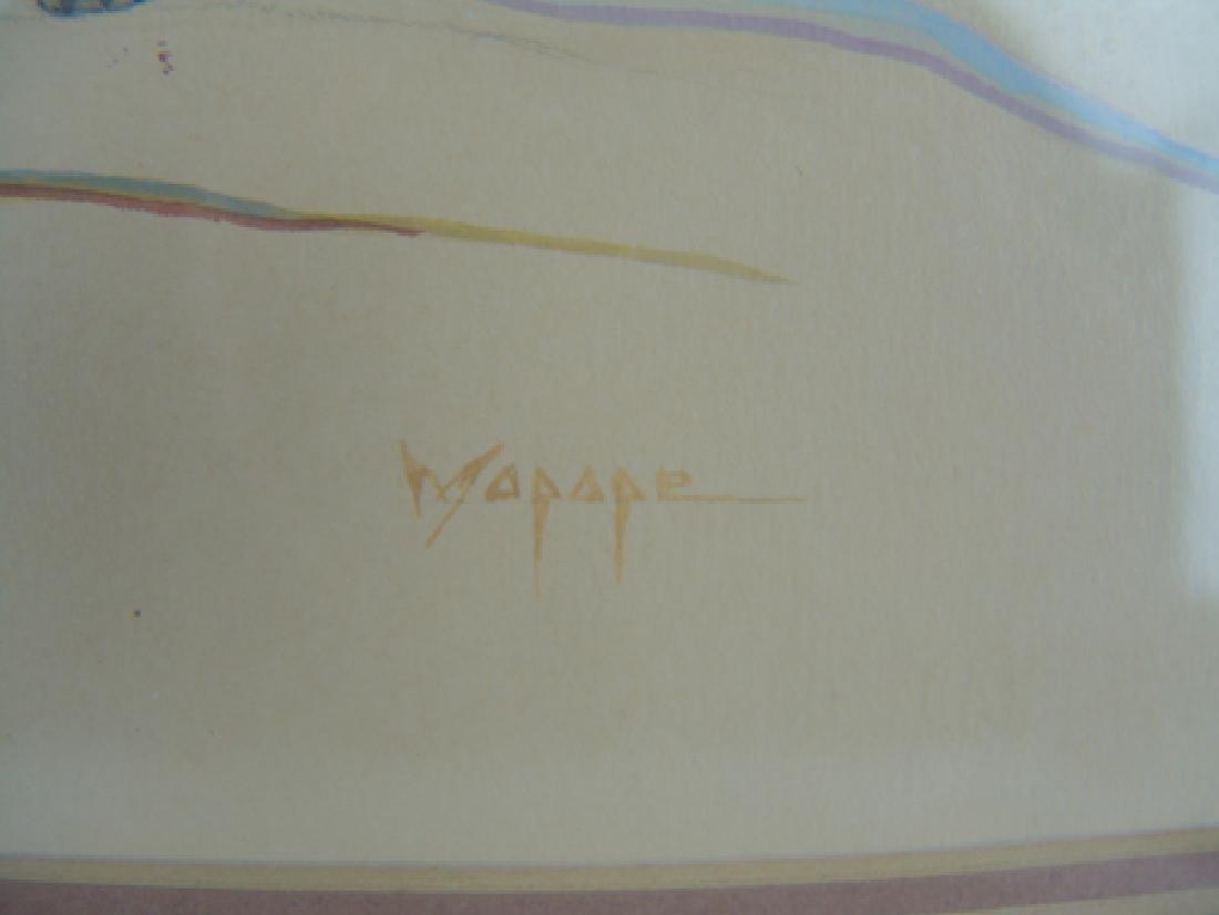 Stephen Mopope, Kiowa (1898-1974) - 5