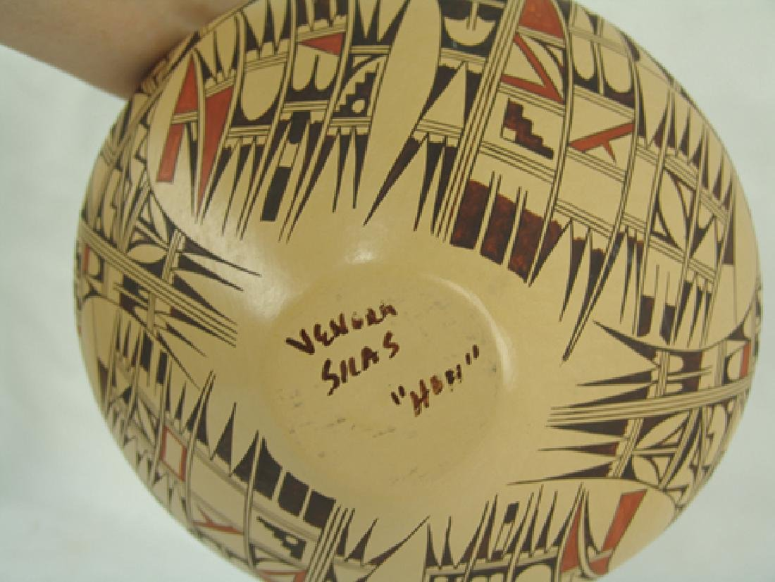 Hopi Pottery Jar - Venora Silas - 10