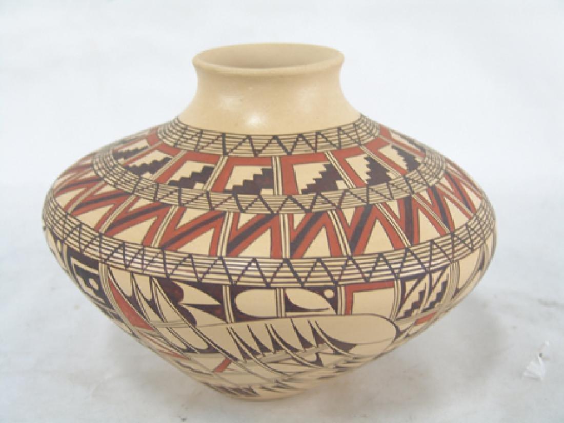 Hopi Pottery Jar - Venora Silas - 3