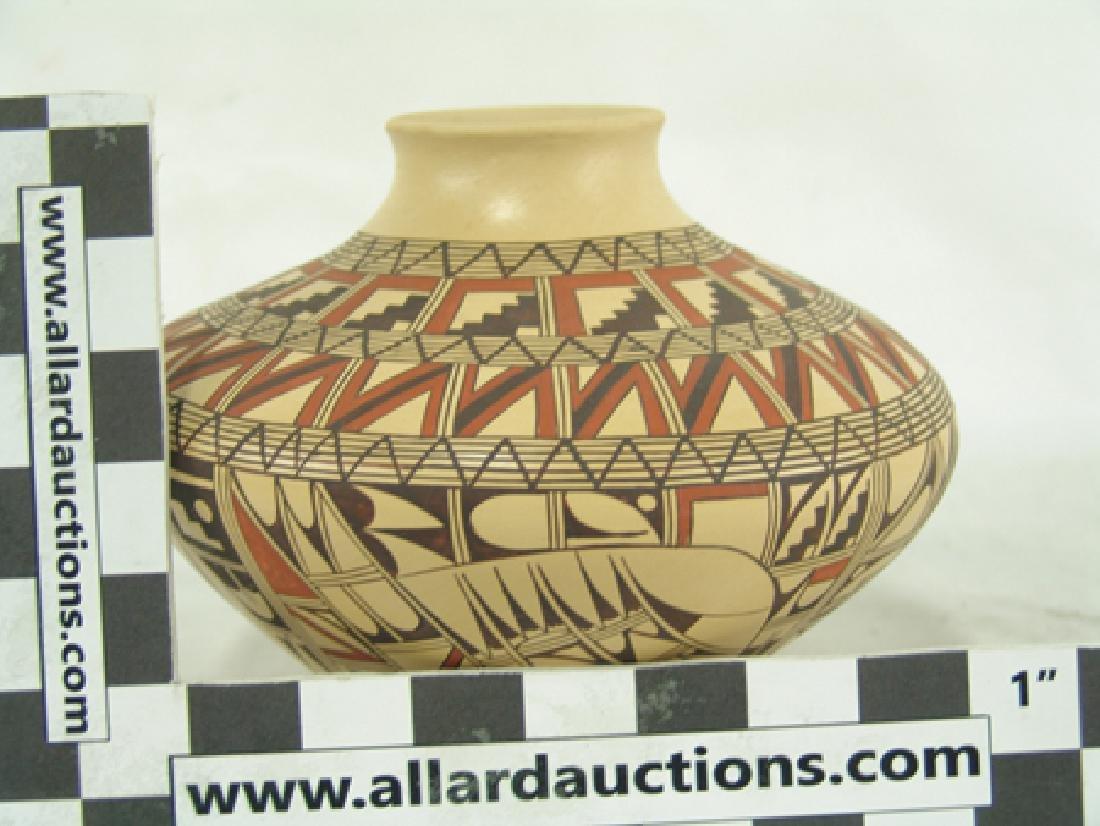 Hopi Pottery Jar - Venora Silas - 4