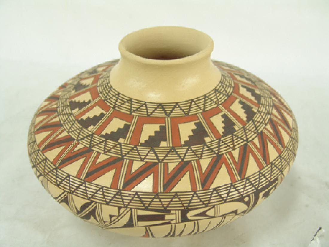 Hopi Pottery Jar - Venora Silas - 6