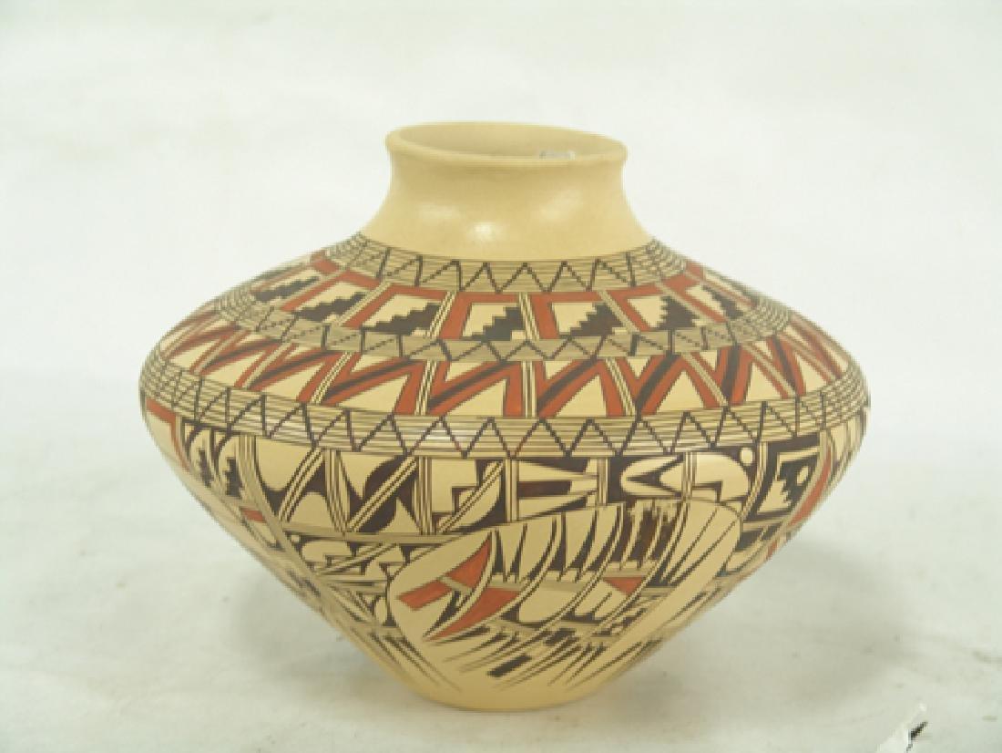 Hopi Pottery Jar - Venora Silas - 7