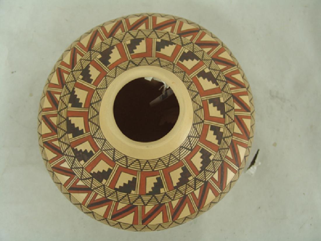 Hopi Pottery Jar - Venora Silas - 8