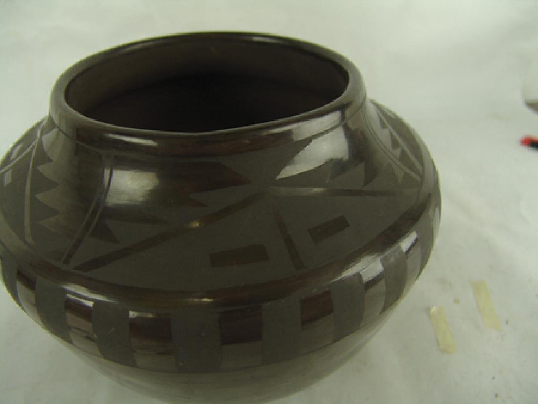 San Idefonso Pottery- Carmelita Dunlap (1925-2000) - 3