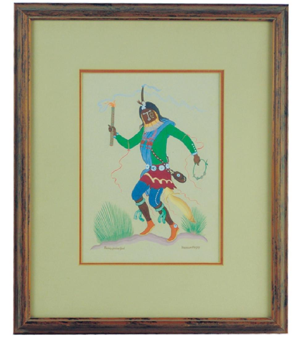 Harrison Begay, Navajo (1914-2012)