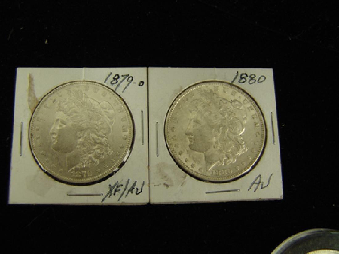 6 U.S. Morgan Silver Dollars - 3