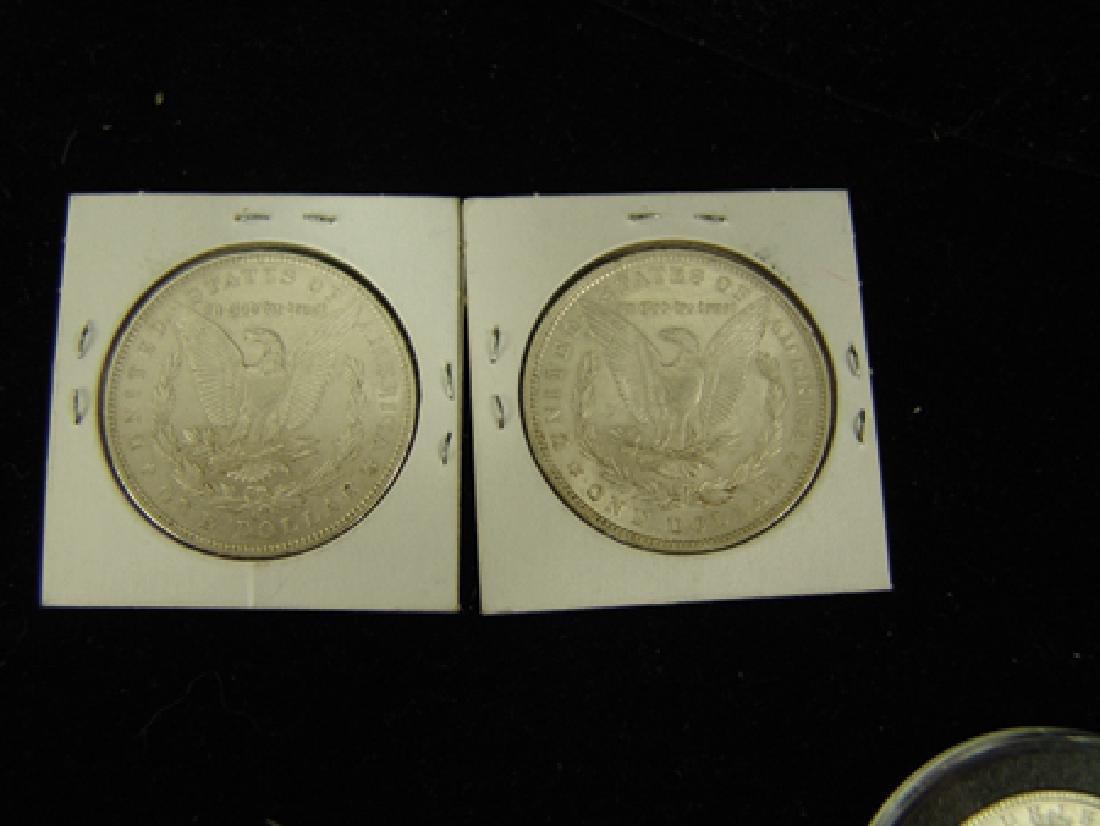 6 U.S. Morgan Silver Dollars - 4