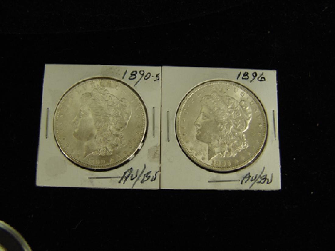 6 U.S. Morgan Silver Dollars - 5