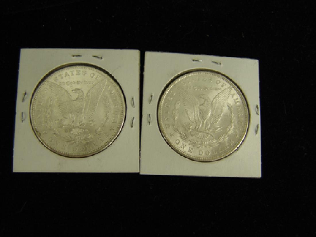 6 U.S. Morgan Silver Dollars - 6