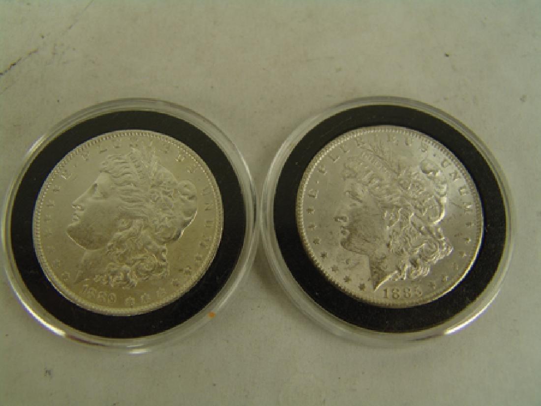 6 U.S. Morgan Silver Dollars - 7