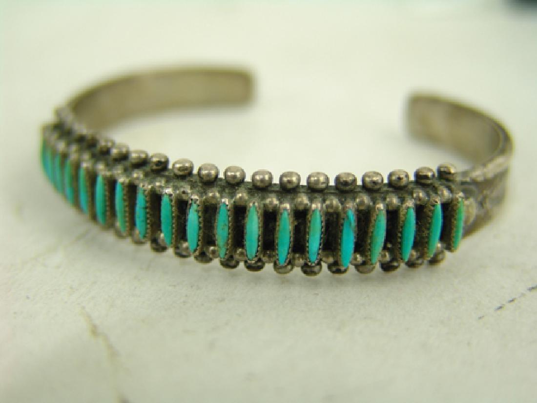 Zuni Bracelet & Earrings - 3