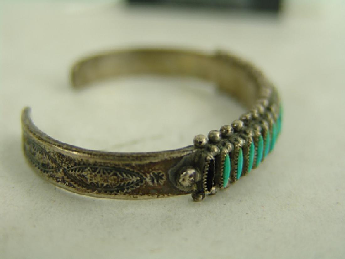 Zuni Bracelet & Earrings - 4