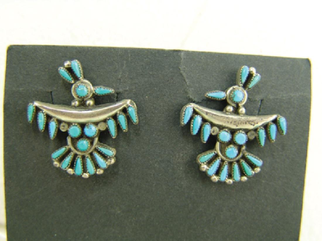 Zuni Bracelet & Earrings - 5