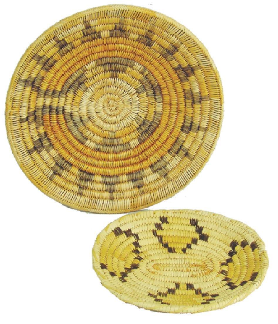 Papago & Navajo Baskets
