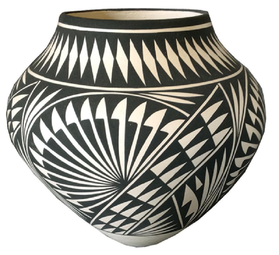 Acoma Pottery Jar - K. Victorino