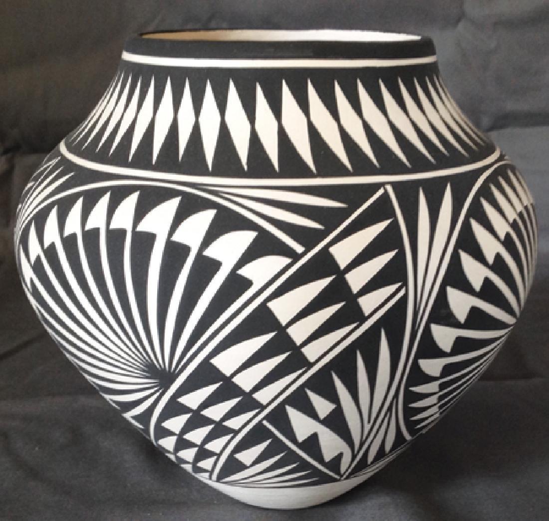 Acoma Pottery Jar - K. Victorino - 2