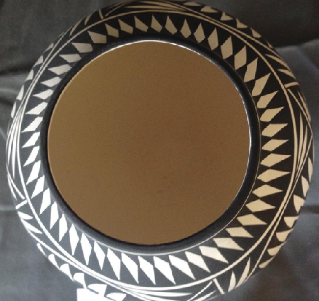 Acoma Pottery Jar - K. Victorino - 3