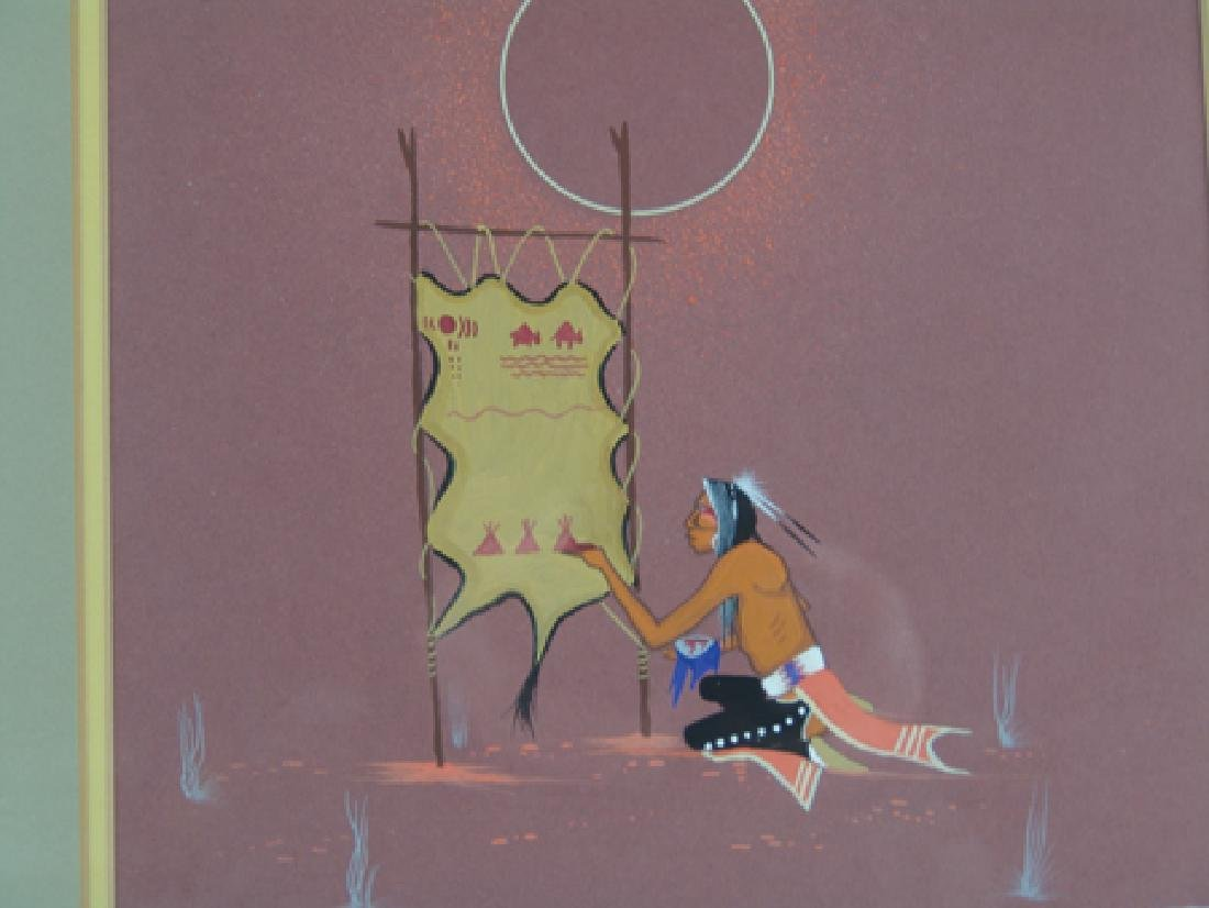Rance Hood, Commanche (b.1941) - 2