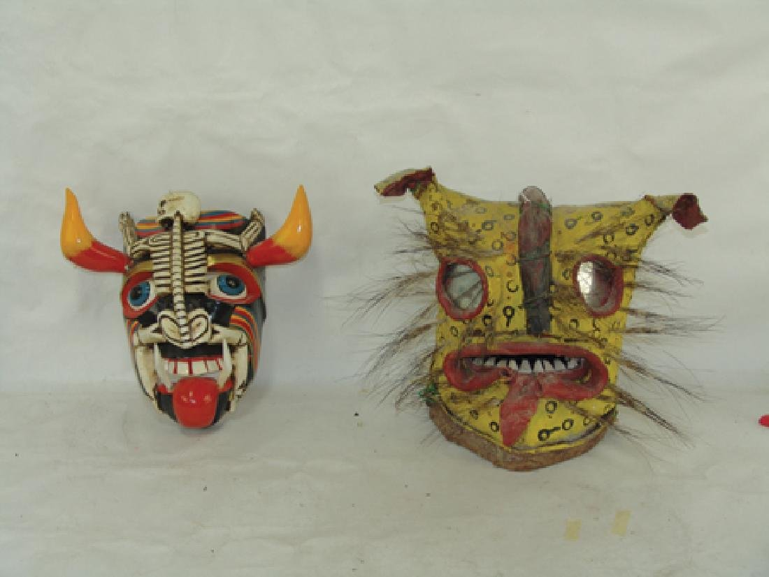 2 Mexican Masks - 2