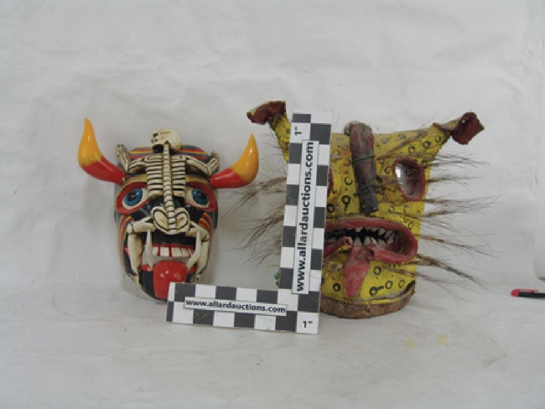 2 Mexican Masks - 3