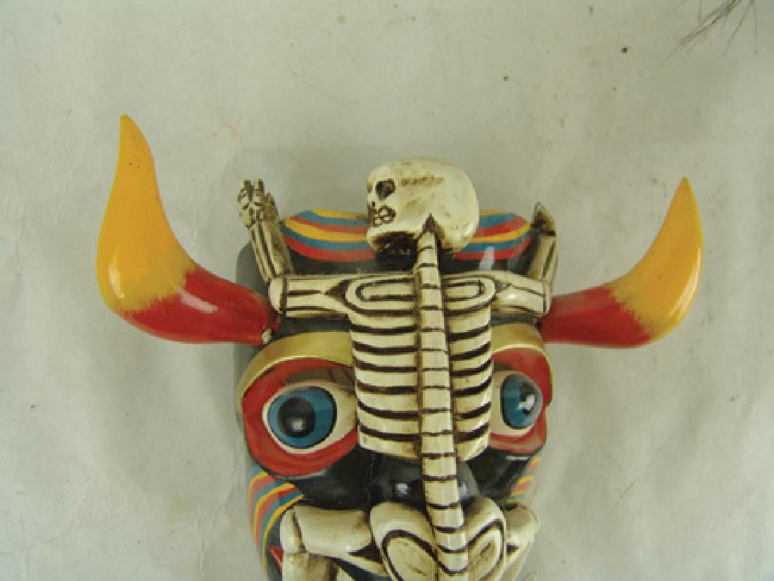 2 Mexican Masks - 5