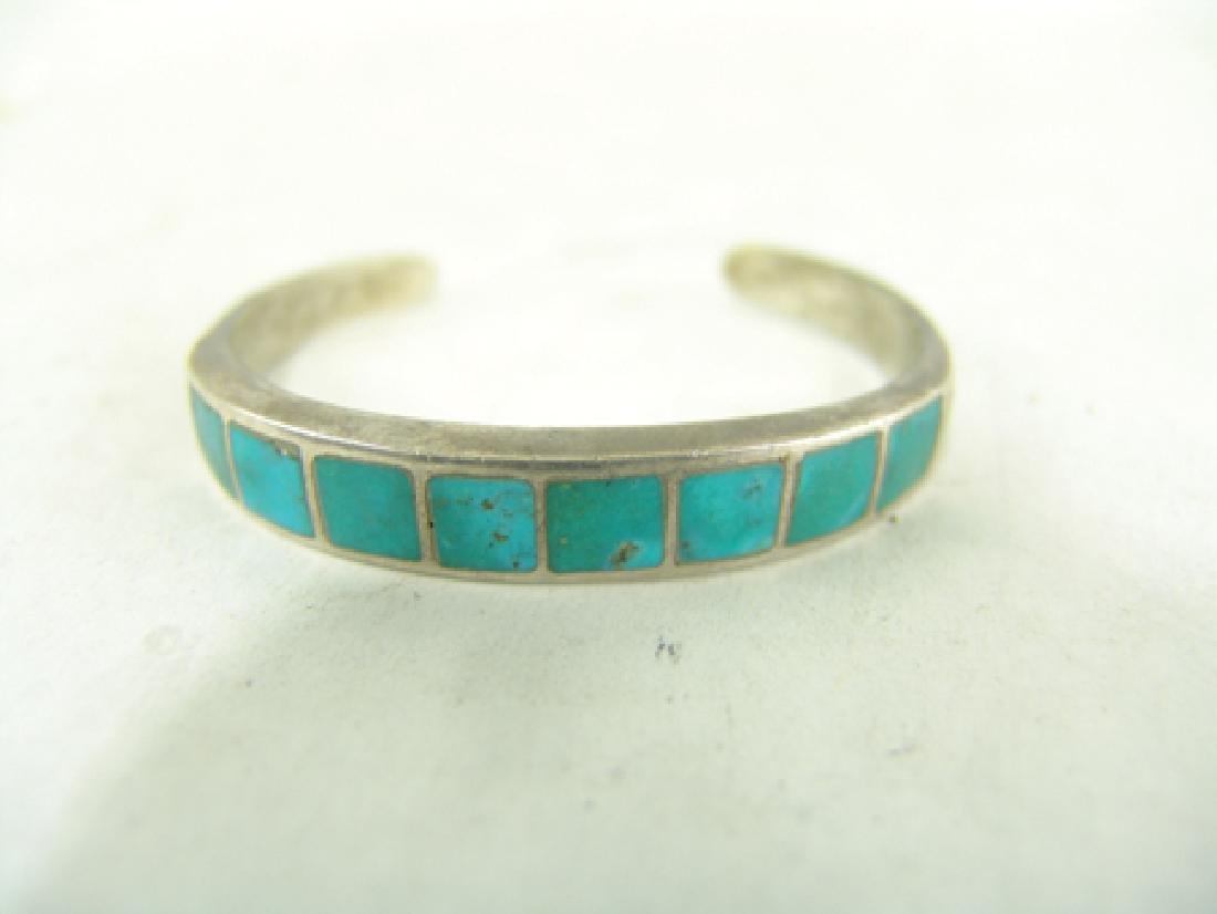 Zuni Inlay Bracelet - 2