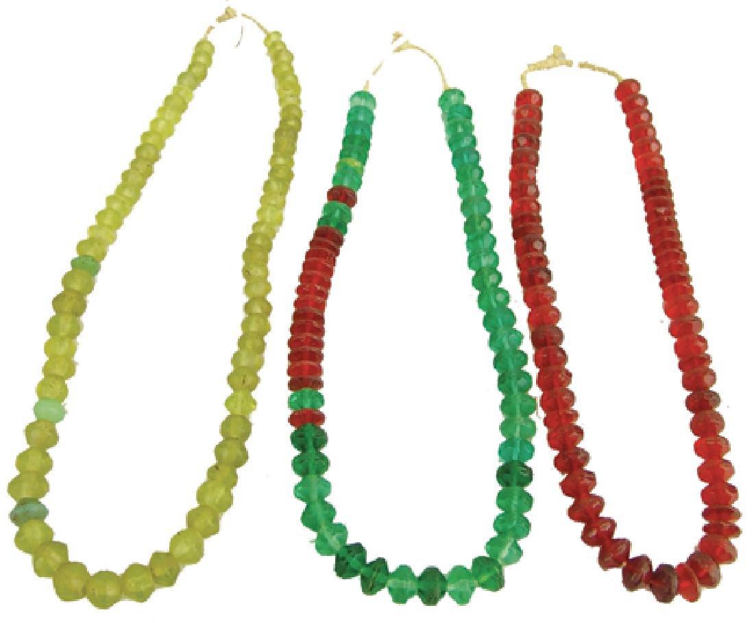Antique Vaseline Trade Beads