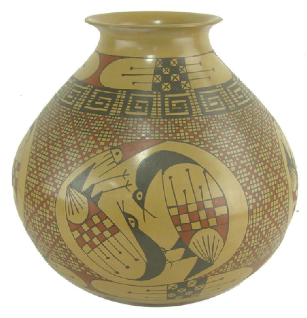 Casas Grandes Pottery Jar - Miguel Bugarini