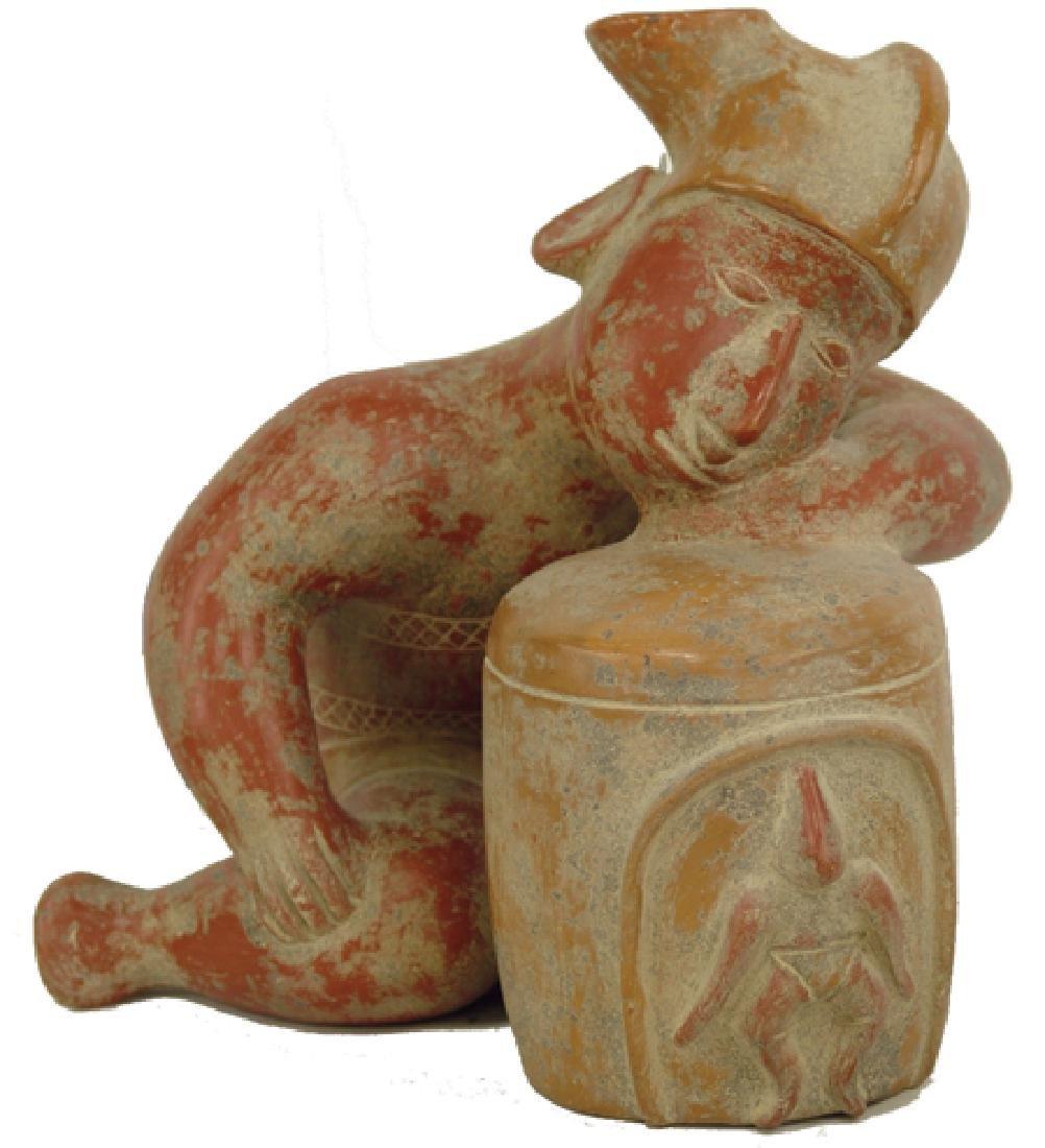Colima Pottery Figure