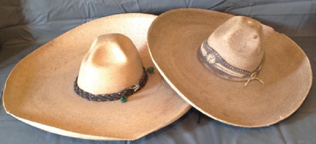 2 Mexican Sombreros