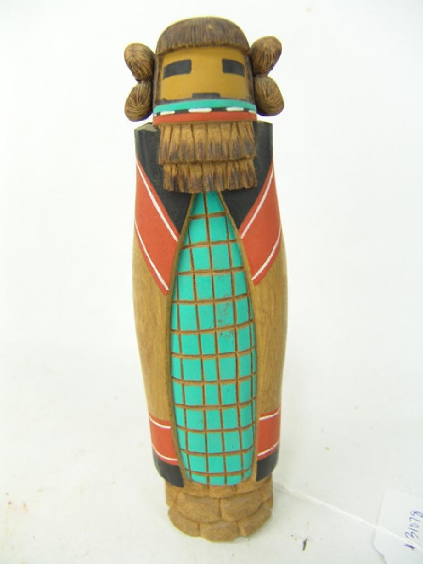 2 Hopi Kachina Carvings - 2